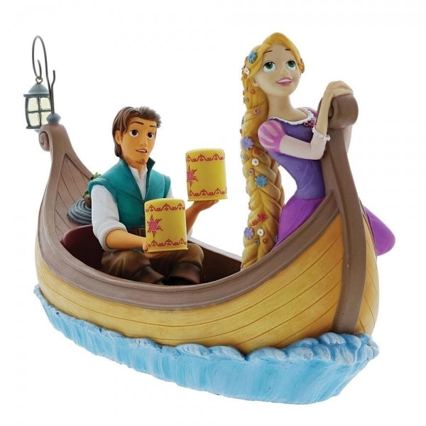 "Rapunzel and Flynn ""I See The Light"" - Disney Enchanting Figurine"