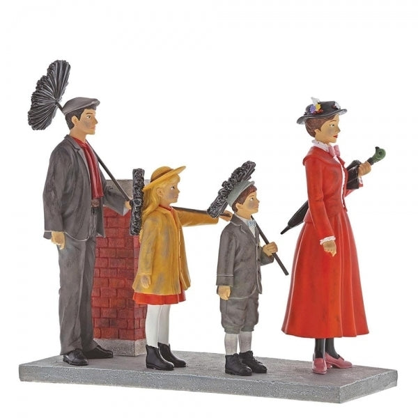 "Mary Poppins ""A Step In Time"" - Disney Enchanting Figurine"