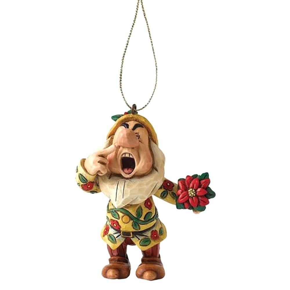 Sneezy 7cm Hanging Disney Traditions Jim Shore