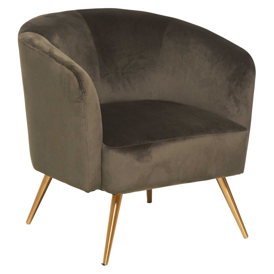 Montana Lounge Chair Dark Green