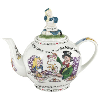 Cardew Design - Alice In Wonderland 6-Cup, 48oz Teapot with Alice Lid
