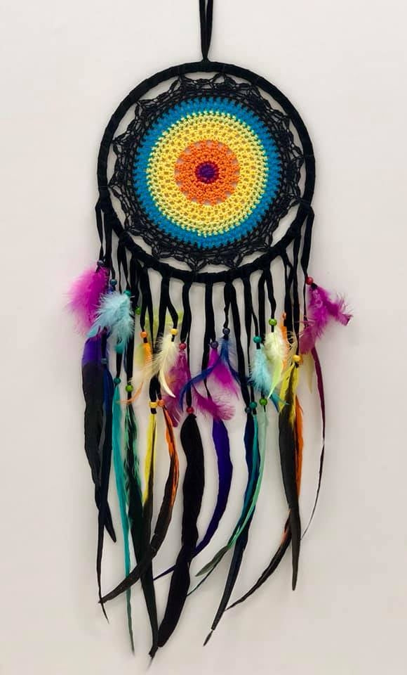 Fabulous Rainbow Dreamcatcher