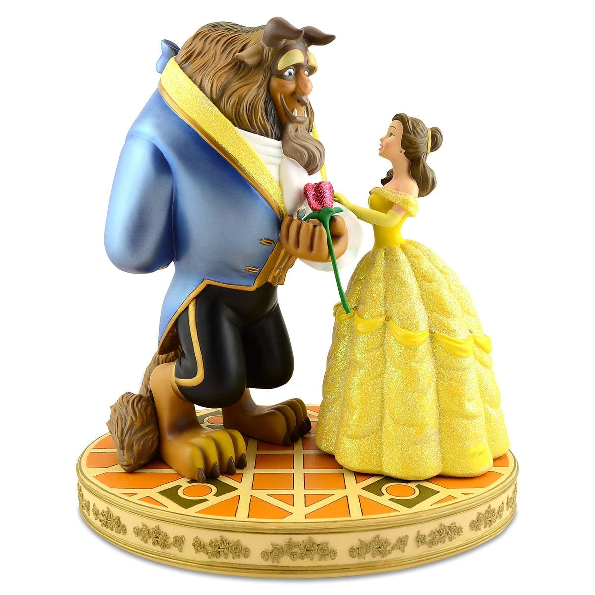 Disney Store Beauty and the Beast Sculpted Figure