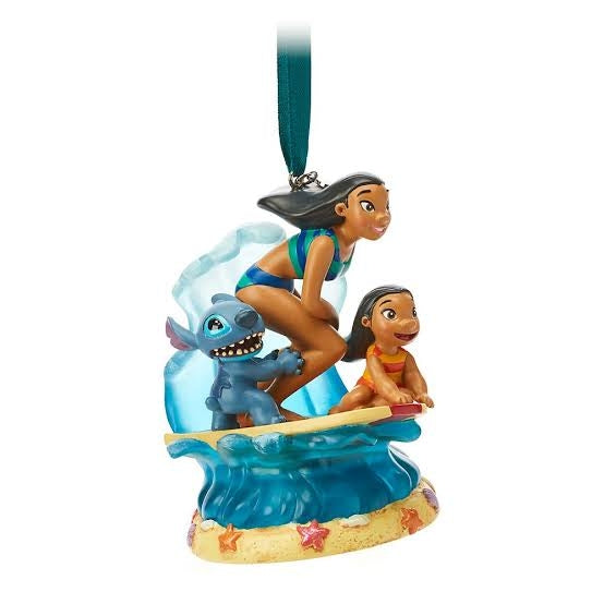 Lilo & Stitch Musical Living Magic Sketchbook Ornament