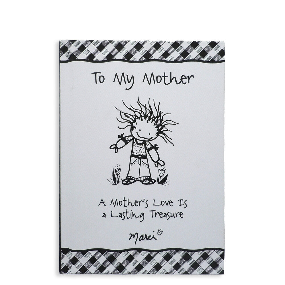 To My Mother by Marci Hard Cover Gift Book