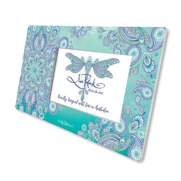 Dragonfly Dreams Ceramic Photo Frame