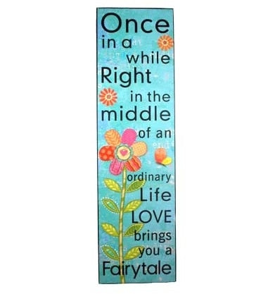 Wall Decor Fairytale 17x60cm