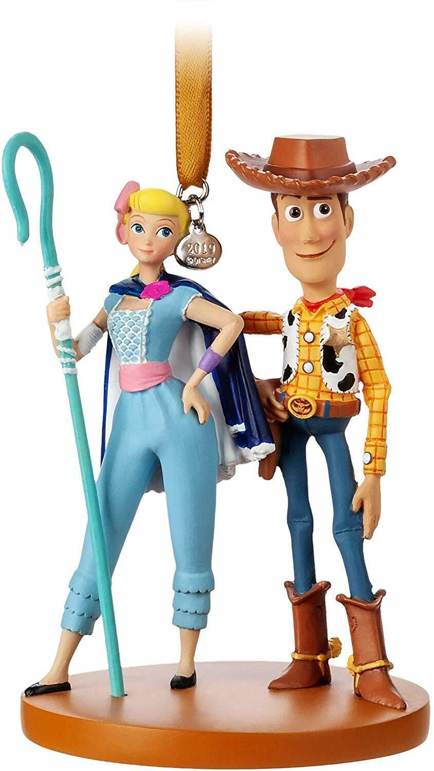 Woody and Bo Peep Sketchbook Ornament – Toy Story 4