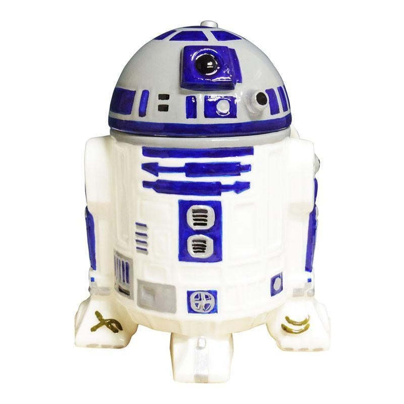 STAR WARS 3D MUG WITH LID - R2-D2