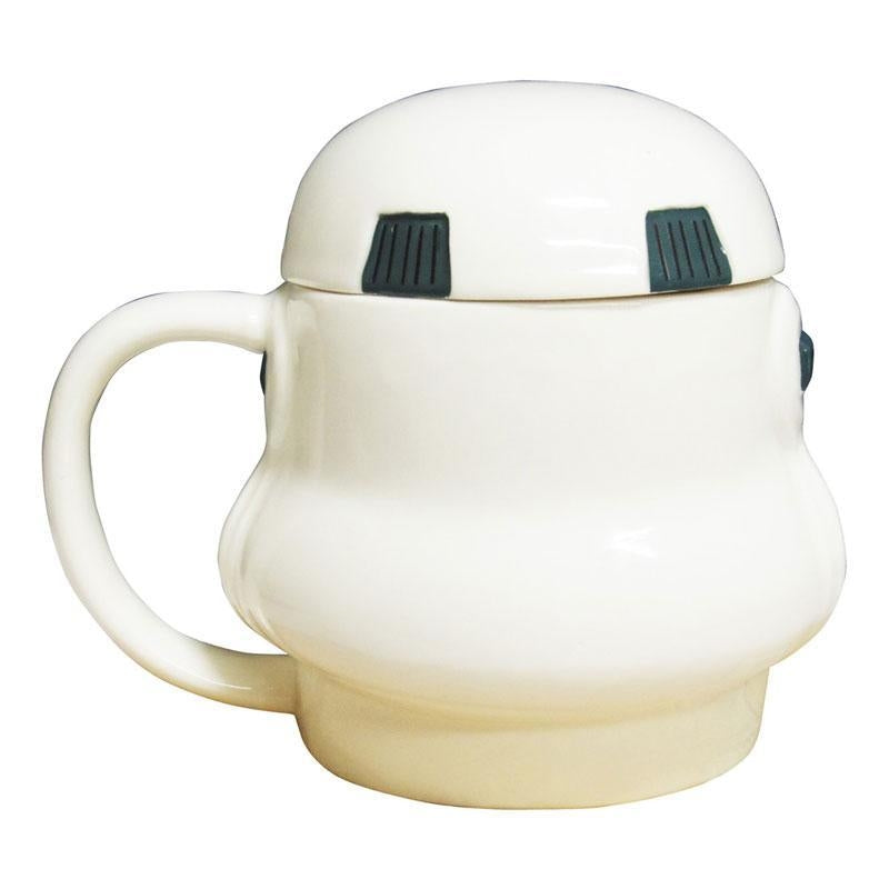 STAR WARS 3D MUG WITH LID - STORMTROOPER
