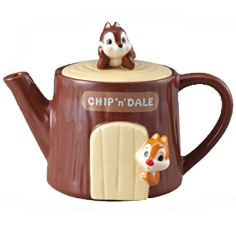 DISNEY TEA FOR ONE - CHIP N DALE TEAPOT