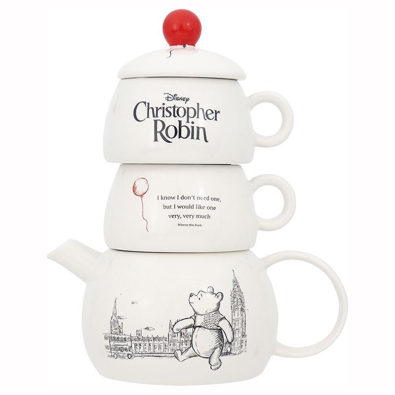 DISNEY TEA FOR TWO - CHRISTOPHER ROBIN TEA FOR 2 SET