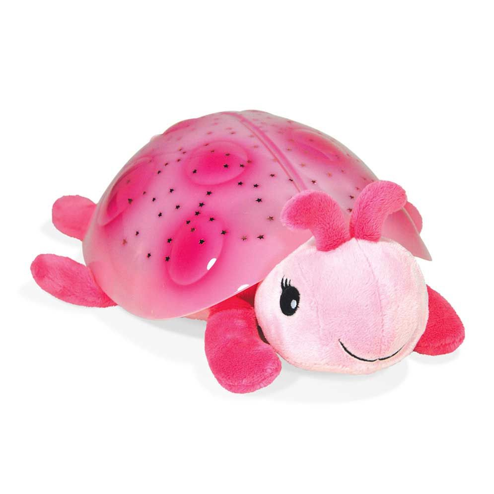 deal - Cloud b Twilight Ladybug Pink Night Light Soother