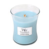 Sea Salt and Cotton Medium WoodWick Candle