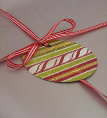 'Candy Cane' Christmas Wrap