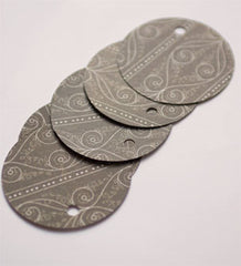 'Chocolate Swirl' Gift Tag