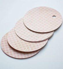 'Pink Gingham' Gift Tag