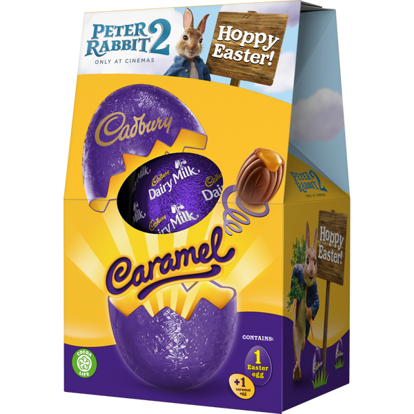 Cadbury Dairy Milk Caramel Chocolate Egg X3 FOR £5