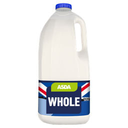 ASDA Whole Milk 4PT