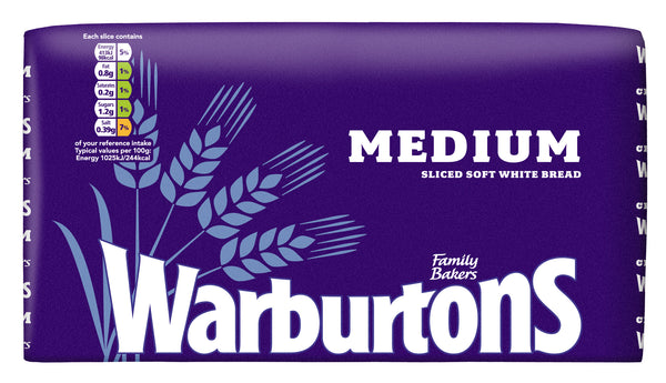 Warburtons Medium White Bread