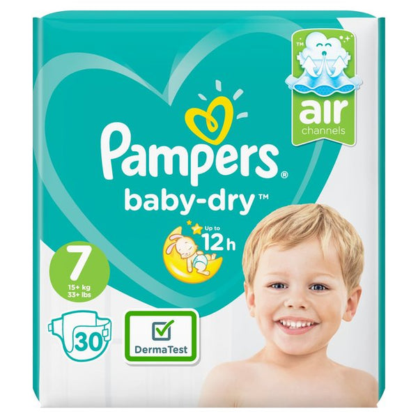 Pampers Baby-Dry Size 7 Nappies Essential Pack
