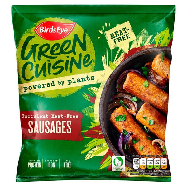 Birds Eye 6 Green Cuisine Vegan Sausages