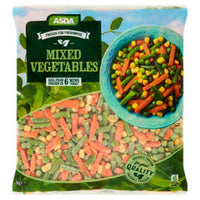 ASDA Frozen for Freshness Mixed Vegetables