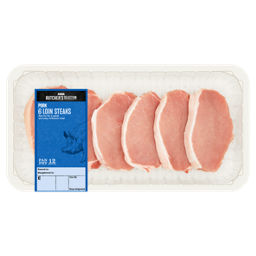 ASDA Butcher's Selection 8 Pork Loin Steaks