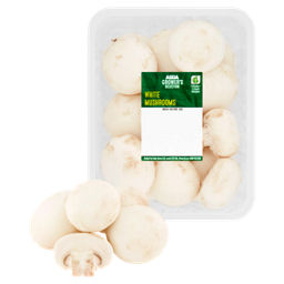 ASDA Grower's Selection White Mushrooms