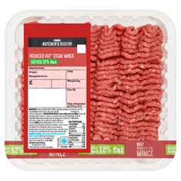 ASDA Butcher's Selection Reduced Fat Beef Mince