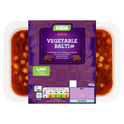 ASDA Vegetable Balti