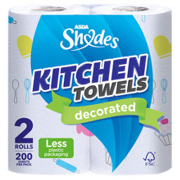 ASDA Shades Kitchen Towels