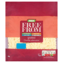 ASDA Free From Grated Cheddar Alternative