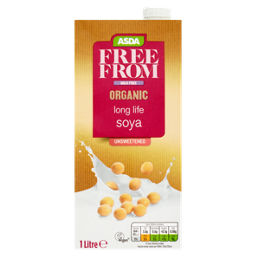 ASDA Free From Organic Long Life Soya Drink Sweetened