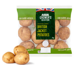ASDA Grower's Selection British Jacket Potatoes