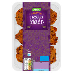 ASDA Sweet Potato Bhajis