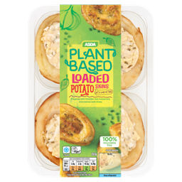 ASDA Plant Based Loaded Potato Skins