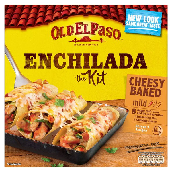 Old El Paso Mexican Cheesy Baked Enchilada Kit