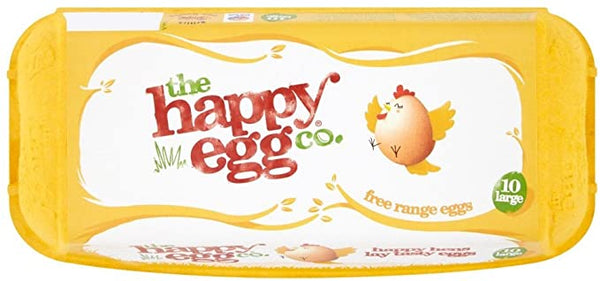 The Happy Egg Co 10 Large Free Range Eggs