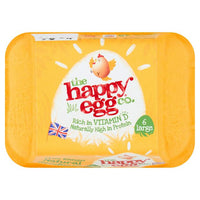 The Happy Egg Co 6 Large Free Range Eggs
