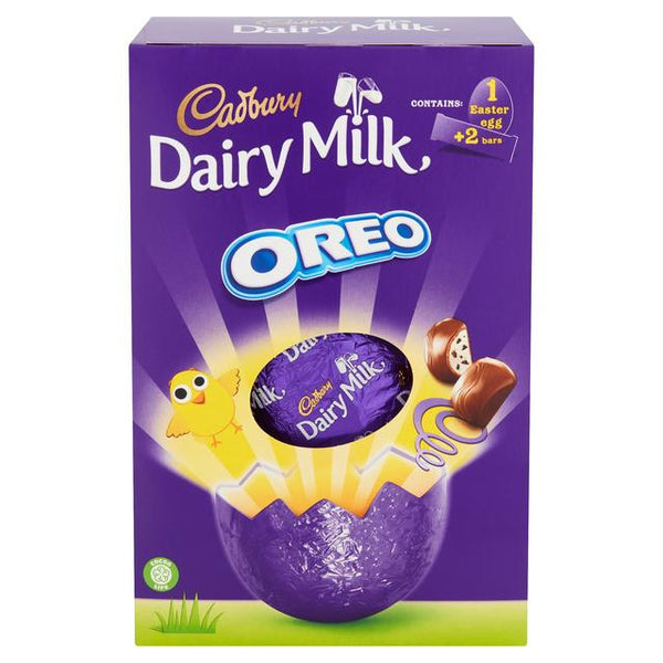 Cadbury Dairy Milk with Oreo Large Easter Egg X3 FOR £10