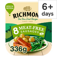 Richmond 8 Thick Vegan Meat Free Sausages