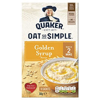 Quaker Oat So Simple Golden Syrup Porridge 10 Pack