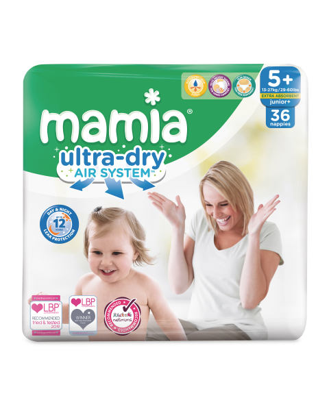 Mamia Ultra Dry Size 5 - 40 Nappies