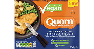 Quorn Totally Vegan 2 Breaded Fishless Fillets