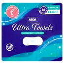 ASDA Protect Ultra Normal Sanitary Towels without Wings