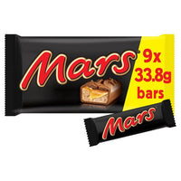 Mars Snacksize Chocolate Bars 9 Pack