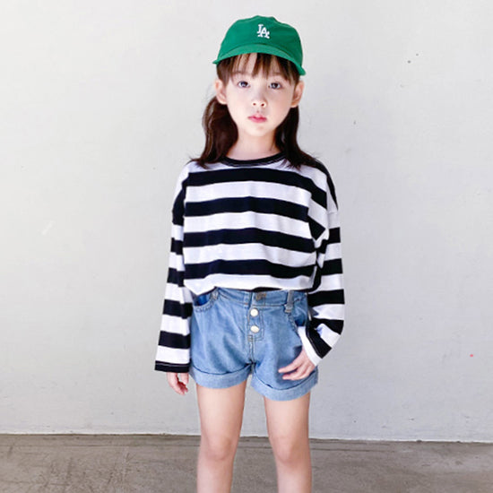 Multi-striped T-shirt - shockingpark
