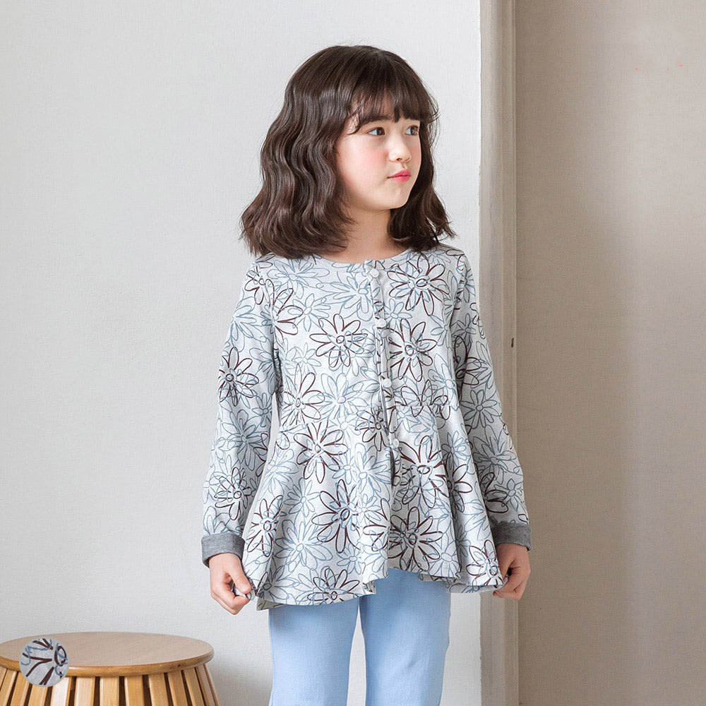 Qiyana Shirring Cardigan - shockingpark