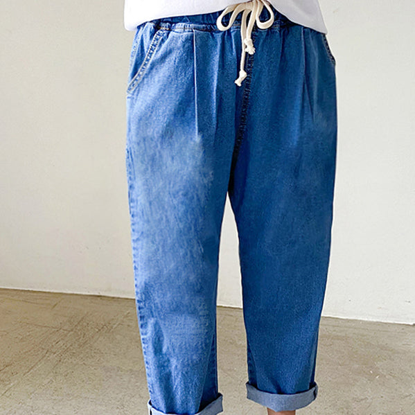 Friend Denim Pants - shockingpark
